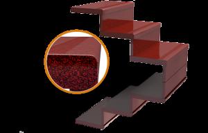 Изготовление гранитных лестниц пример 2