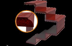 Изготовление гранитных лестниц пример 3