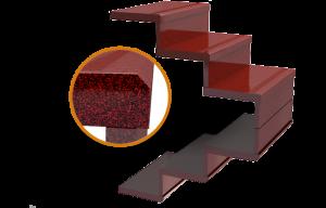 Изготовление гранитных лестниц пример 1